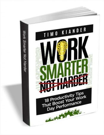 free ebook work better not harder