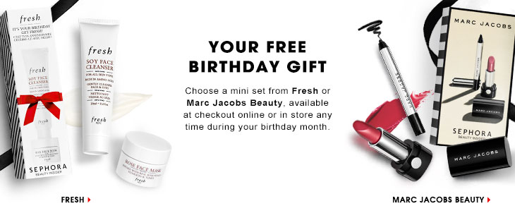 sephora birthday gift
