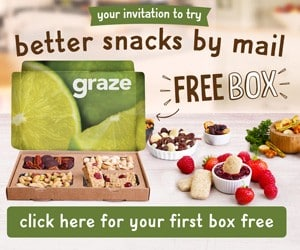 Reminder: Sign Up for a FREE Snack Box From Graze