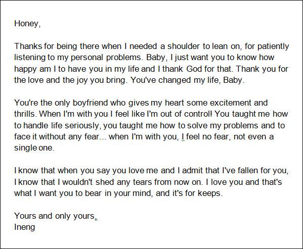 Love-Letter-to-write-a-Boyfriend