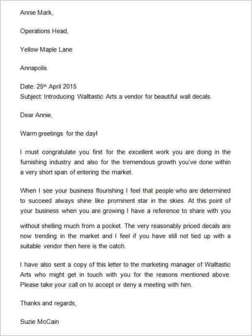 6 company introduction letter templates free sample templates company introduction letter template 555 thecheapjerseys Image collections
