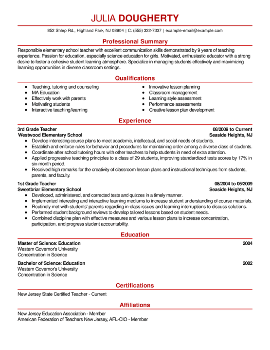 resume format and templates 222