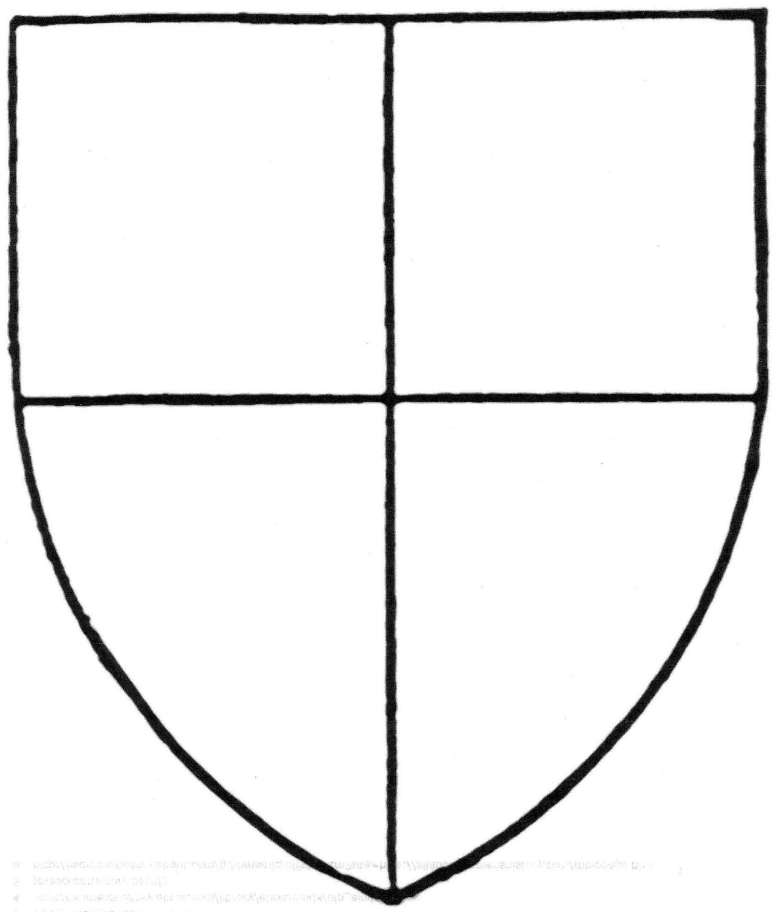 School Shield Template