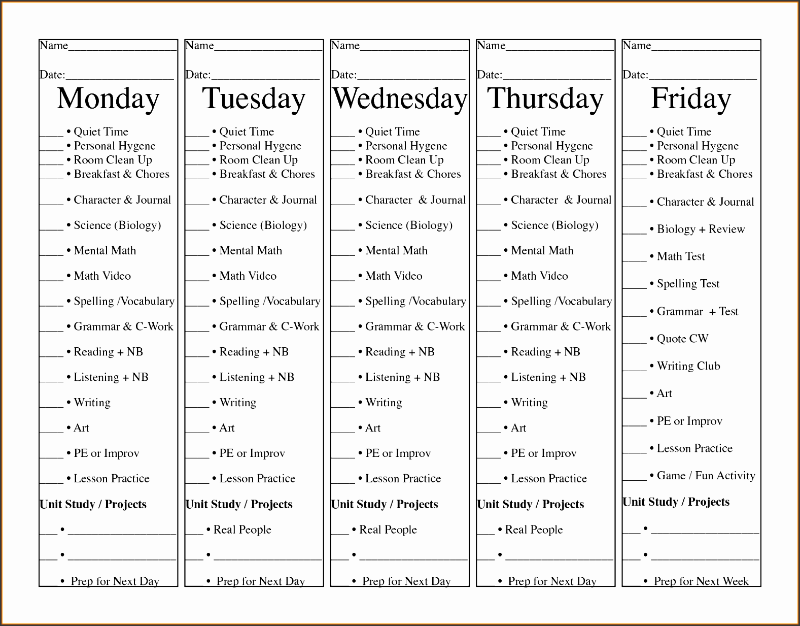 Daily Site Diary Template