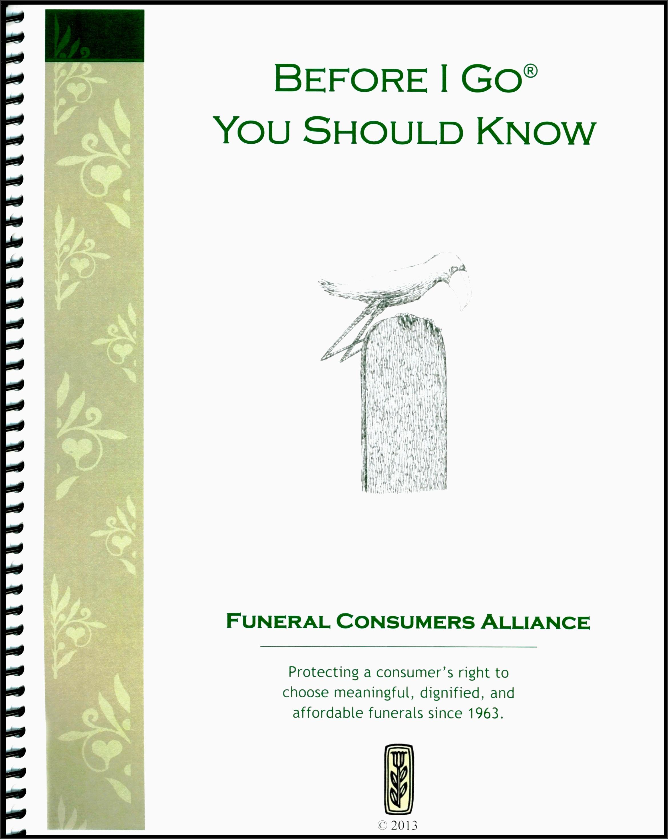 5 Funeral Planning Checklist Sample