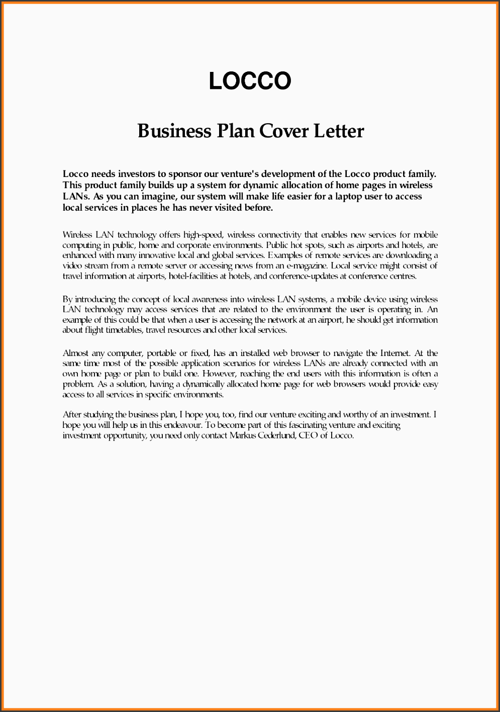 6 How To Make Business Proposal Sample Letter