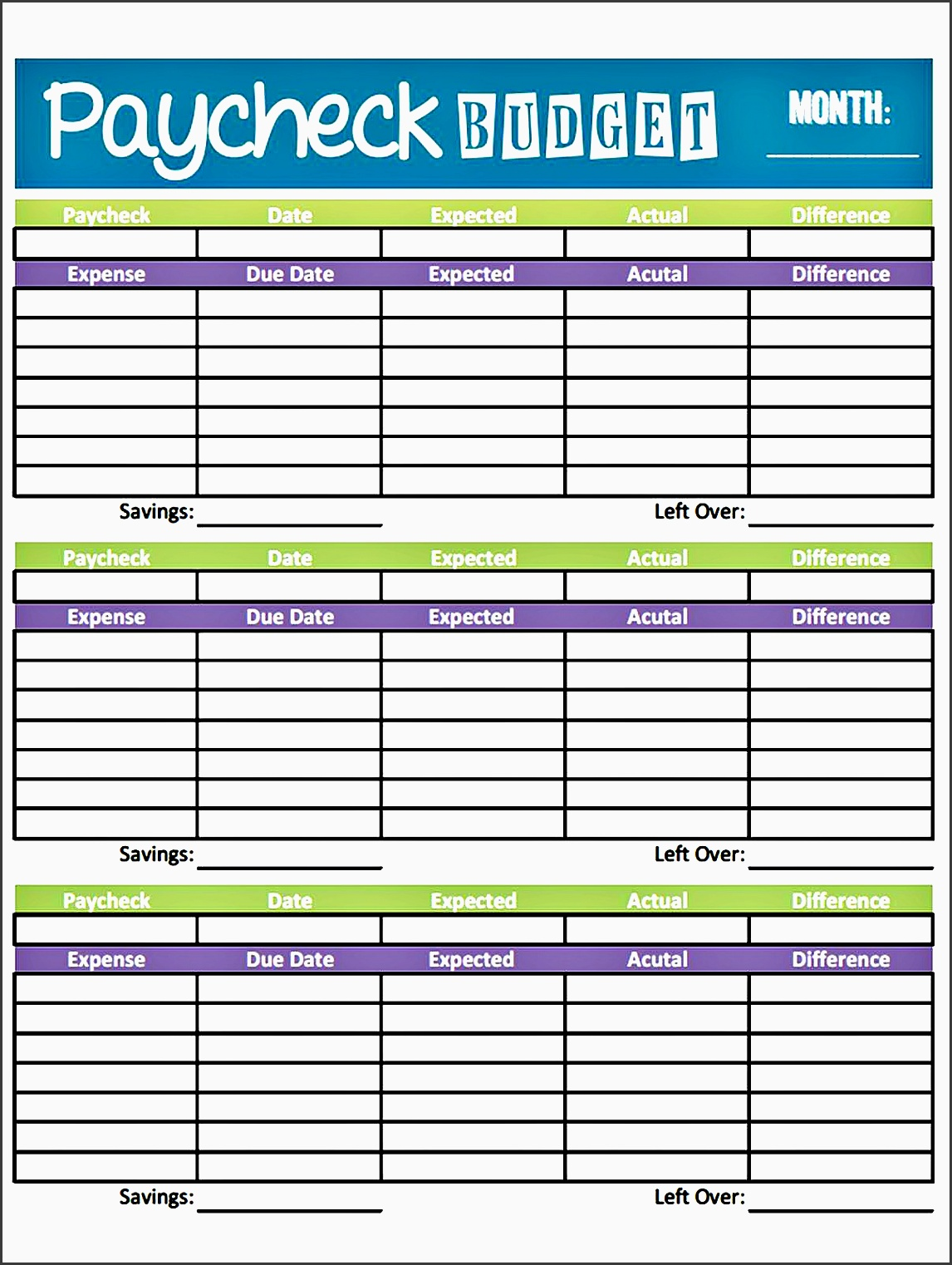 10 Make Free Family Budget Planner Online