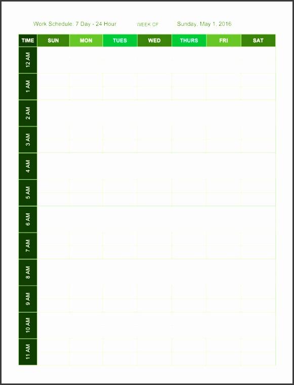 11 Seven Days Planner Template SampleTemplatess SampleTemplatess