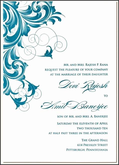 Surat Undangan Invitation Formal Newpapersco