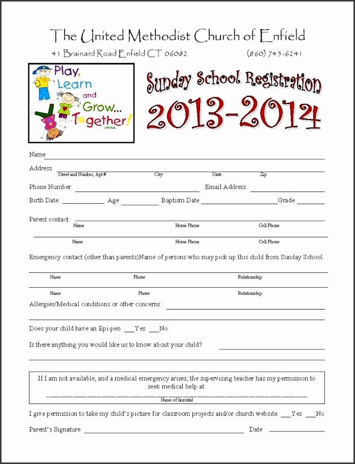 sports camp registration form template - Diving.thexperience.co