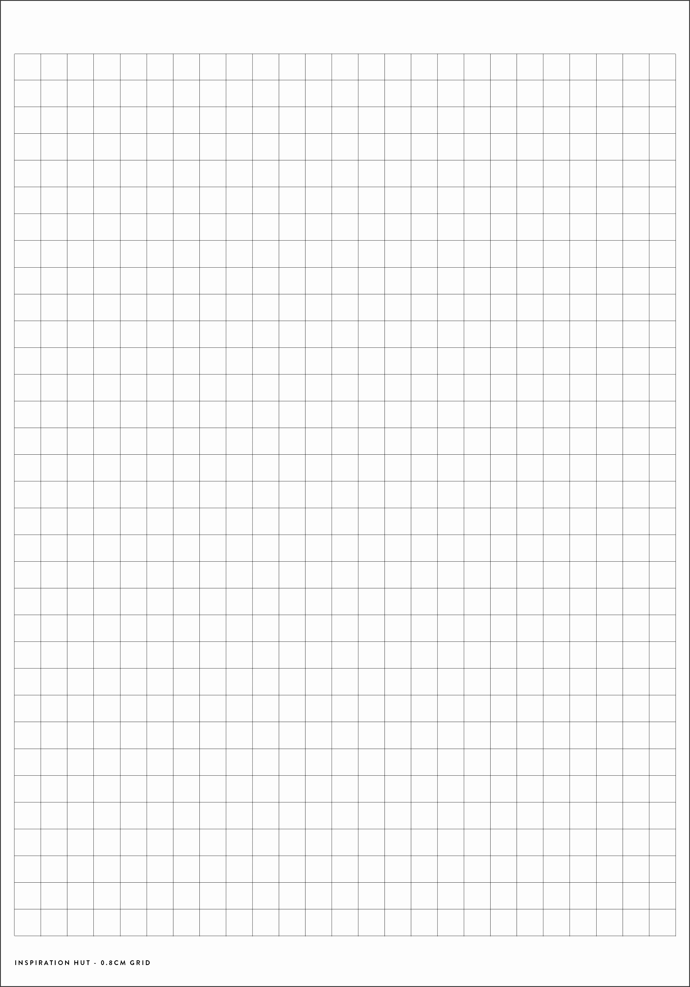7 Graphing Paper Template