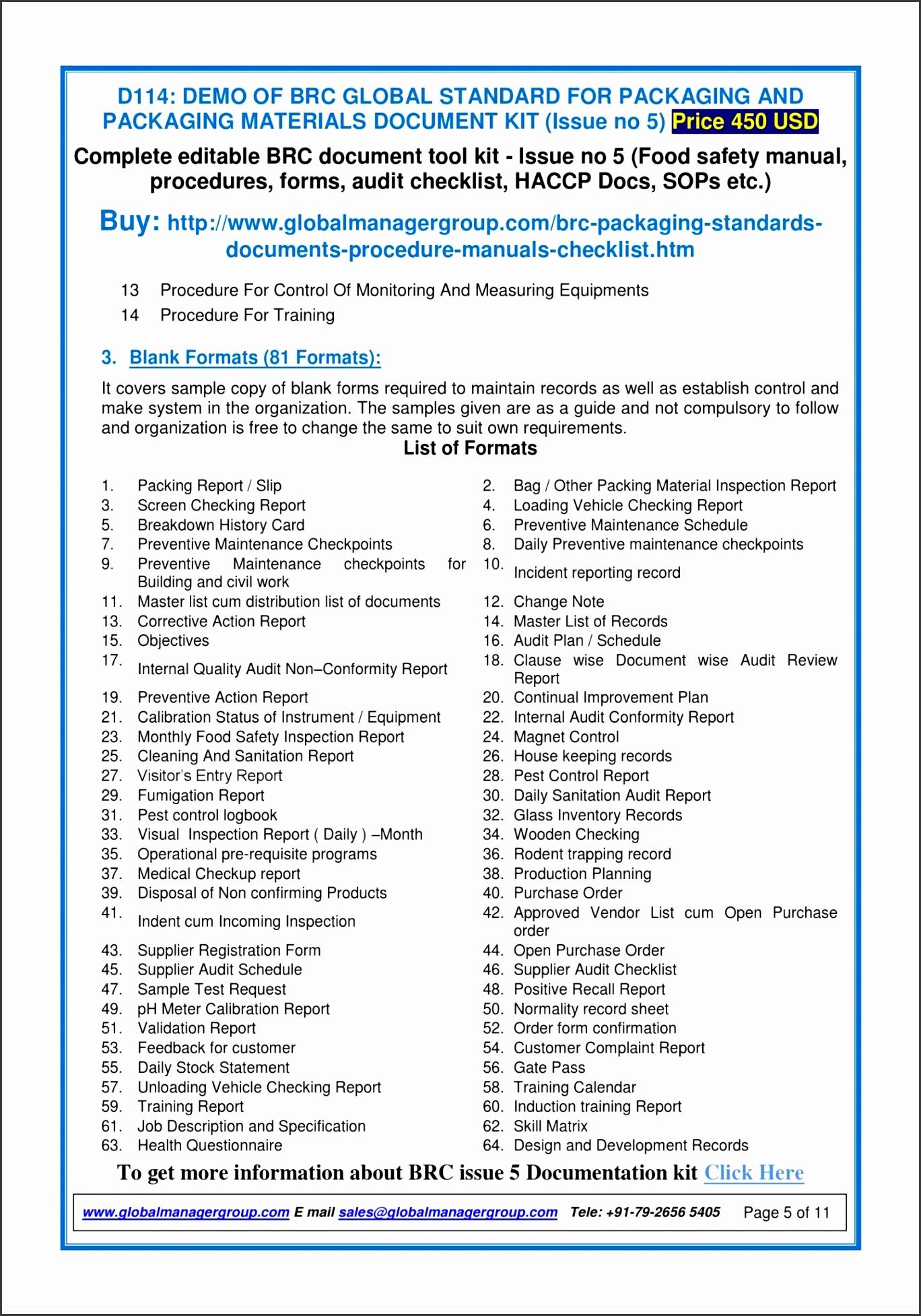 5 Professional Price List Template SampleTemplatess SampleTemplatess