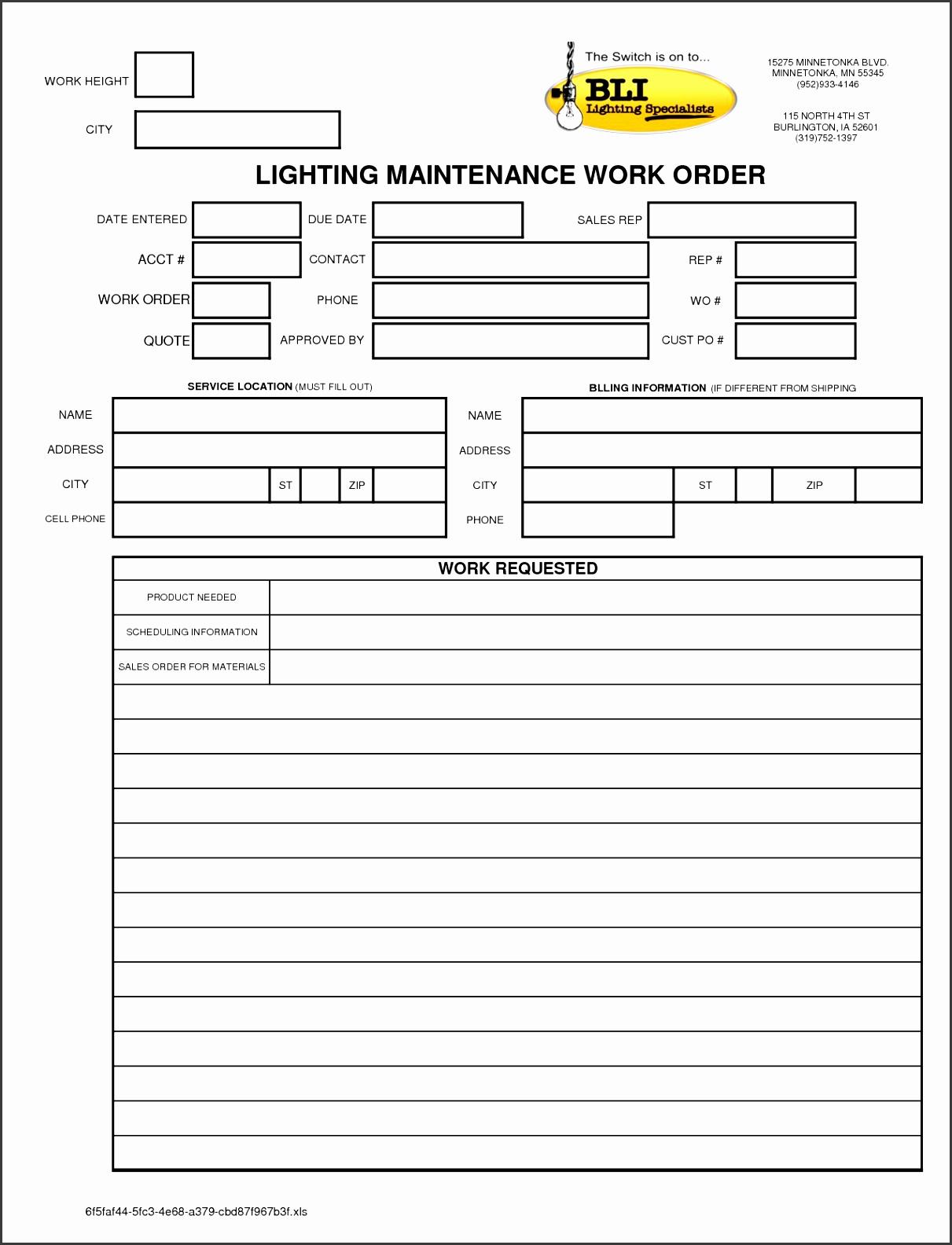 8 Apartment Maintenance Request Form Template