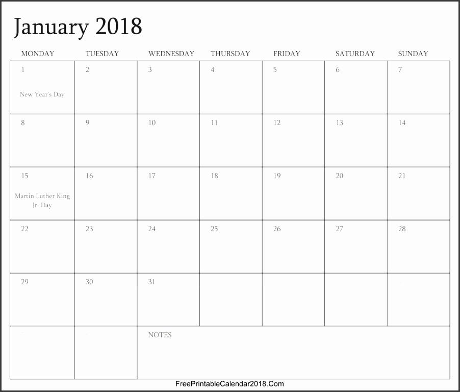 Editable 2018 Broadcast Calendar Printable