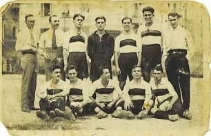 Foto storica squadra Sampierdarenese