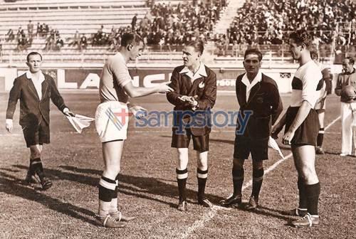 Foto storica 1935-36 Lazio Sampierdarenese