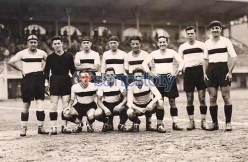 Foto storica 1932-33 Sampierdarenese