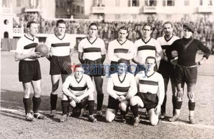 Foto storica 1936-37 Sampierdarenese Triestina