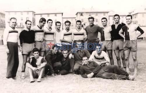 Foto storica 1946 Sampierdarenese Andrea Doria