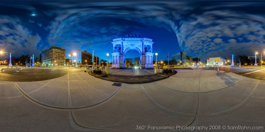 Grand Army Plaza :: Brooklyn :: NYC  :: 360° Panorama