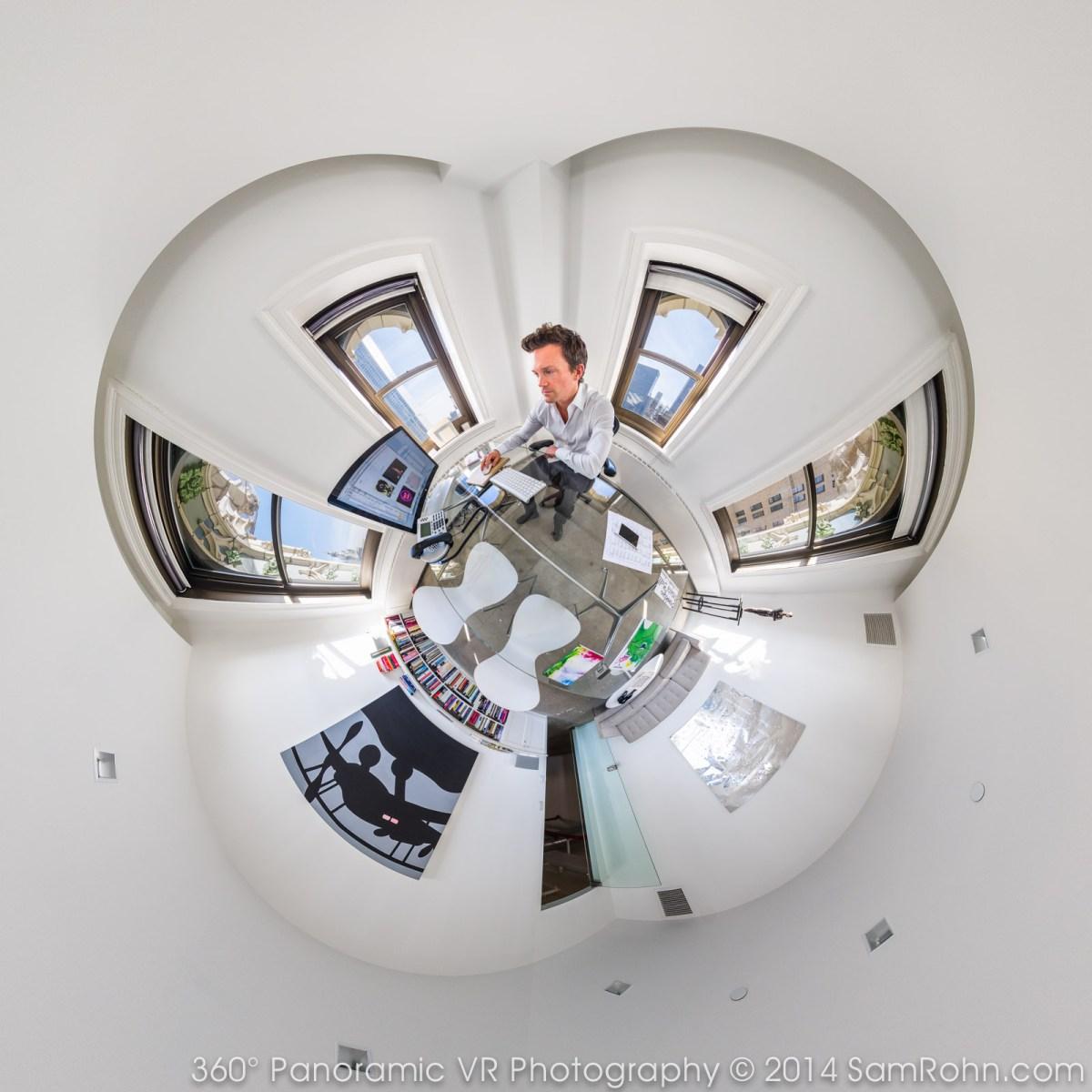 Jacob Pabst's Office at Artnet.com :: NYC :: Sam Rohn 360° Photography