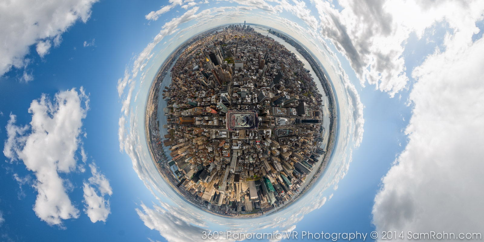 Planet New York Empire State Building 360 176 Panorama
