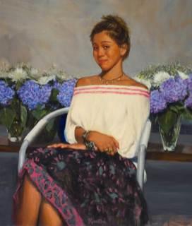 Ann Marie, 40 X 36, Sold
