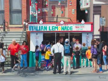 Mario's Lemonade Stand (Dipaulo Family Portrait), Sold