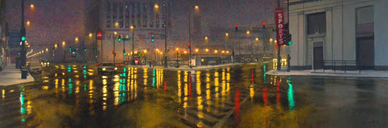 Noble Square, 48 X 144, Sold