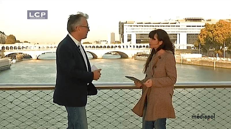 Philippe Couve interviewé dans Mediapol sur la chaîne LCP
