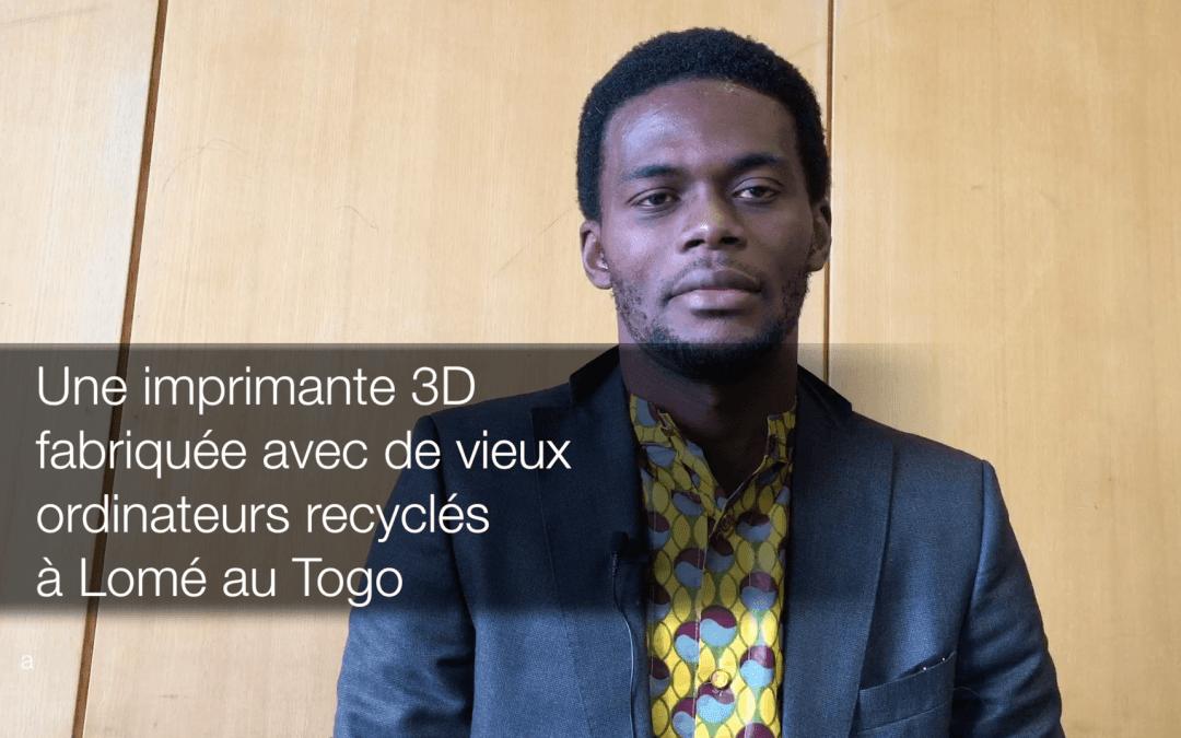 Quand l'Afrique recycle et innove en créant une imprimante 3D avec du matériel de récup