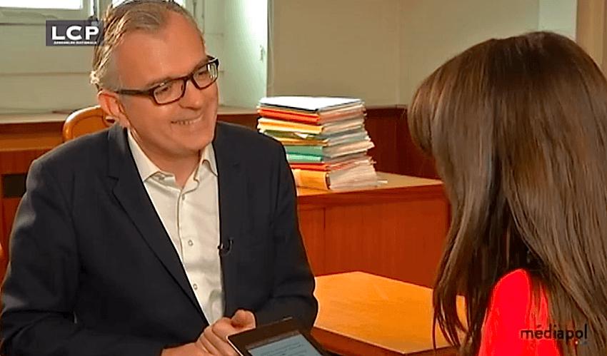 Philippe Couve interviewé dans Mediapol sur la chaîne parlementaire
