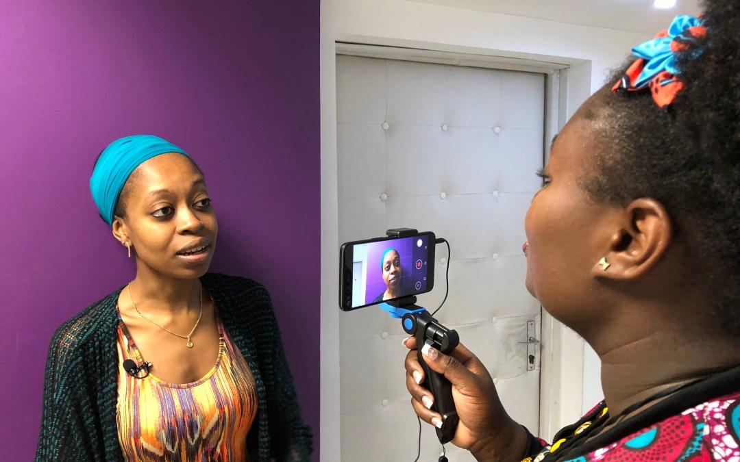 Formation vidéo mobile avec smartphone à Abidjan (mai 2018)