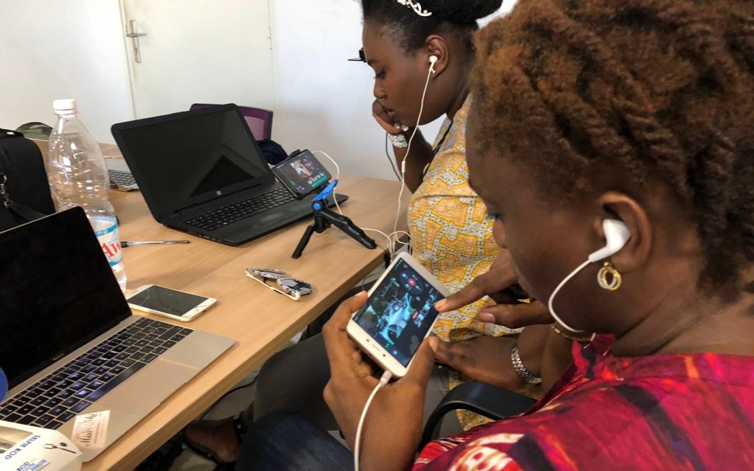 Formations vidéo mobile à Abidjan en décembre 2018 (inscriptions)