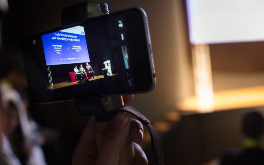 La vidéo avec smartphone entre dans l'âge de raison chez les pros