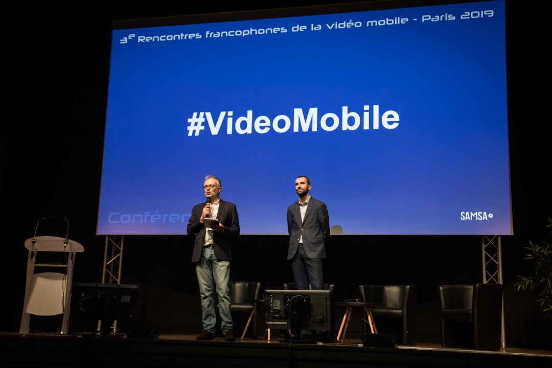 Les Rencontres francophones de la vidéo mobile