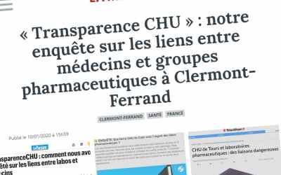#transparenceCHU : quand la presse régionale fait enquête commune
