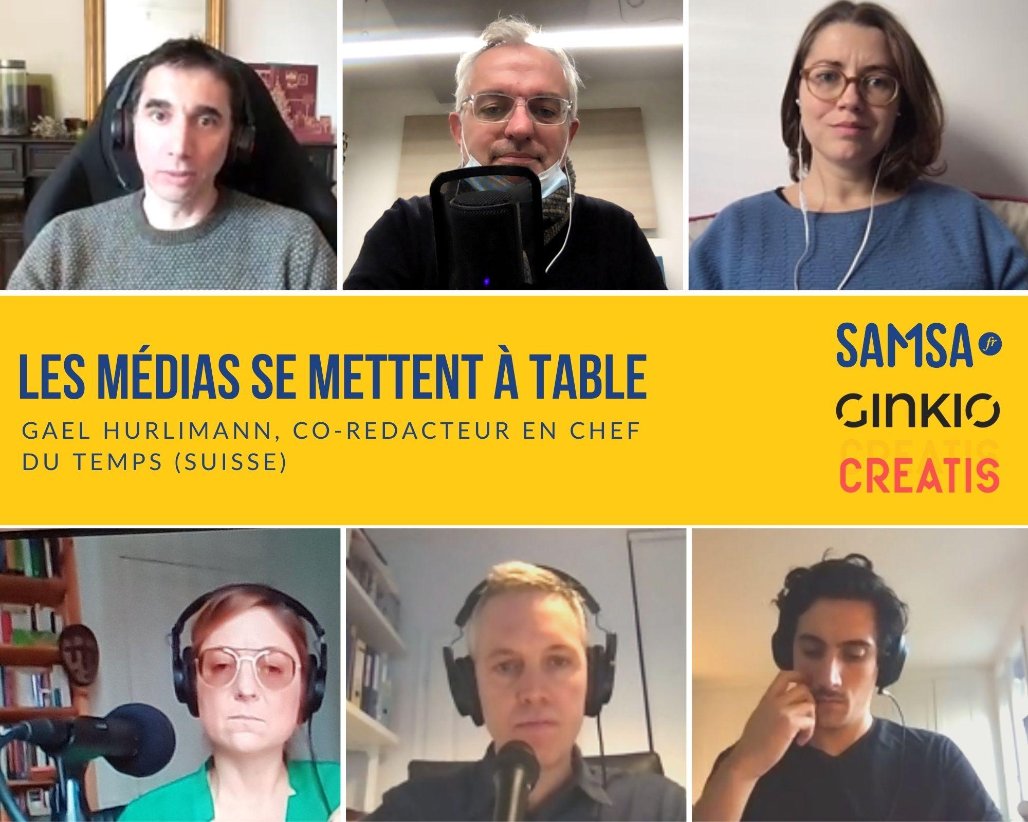 Gaël Hurlimann : « On vit un moment incroyable pour les médias en Suisse romande » – [Podcast – Les médias se mettent à table]