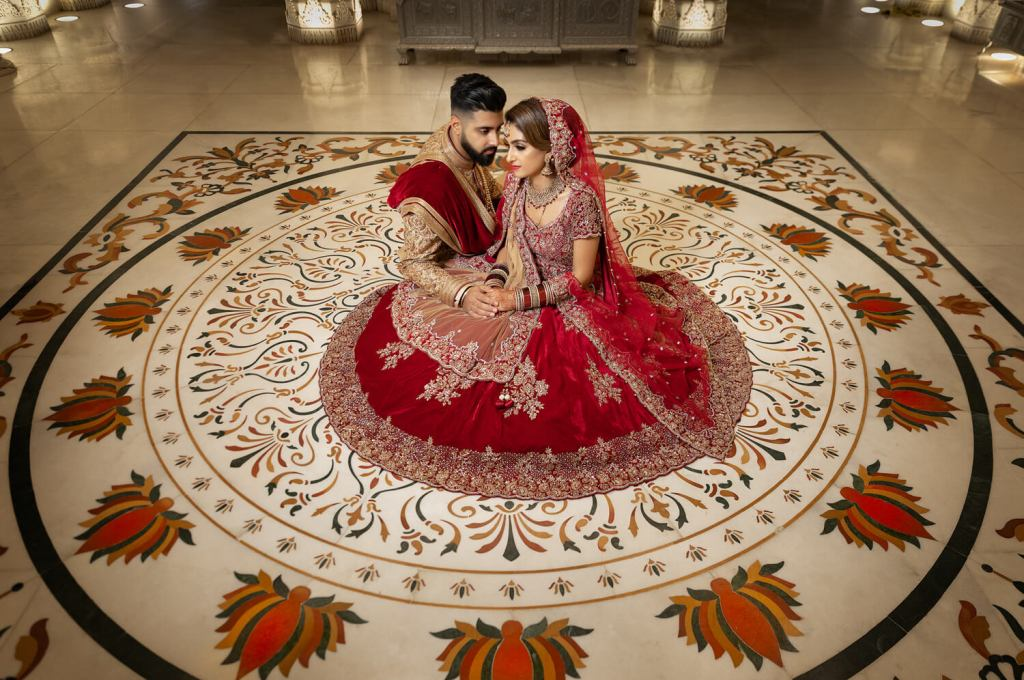 Asian Wedding Photography Oshwal Centre