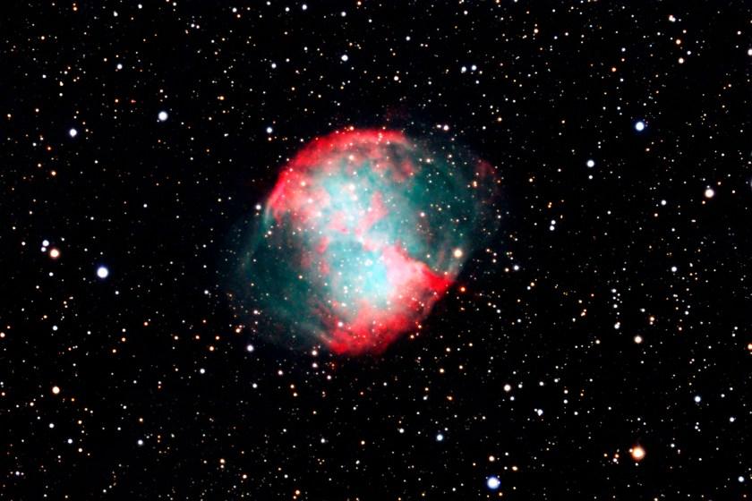 Dumbbell Nebula M 27 NGC 6853