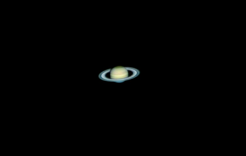 "Saturn taken with ToUcam Celestron 11"" SCT 3/12/2005"