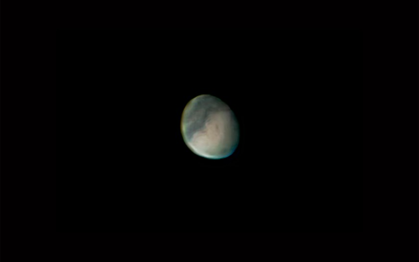 "Mars - 9/05/2005 C, Celestron 11"" SCT f/25Losmandy, G11 Mount & Phillips ToUcam"