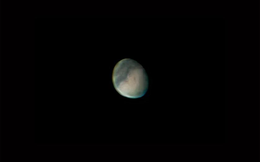 """Mars - 9/05/2005 C, Celestron 11"""" SCT f/25Losmandy, G11 Mount & Phillips ToUcam"""