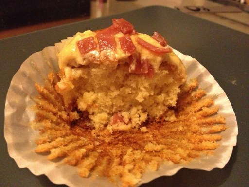 Bacon & Maple Syrup Cupcake