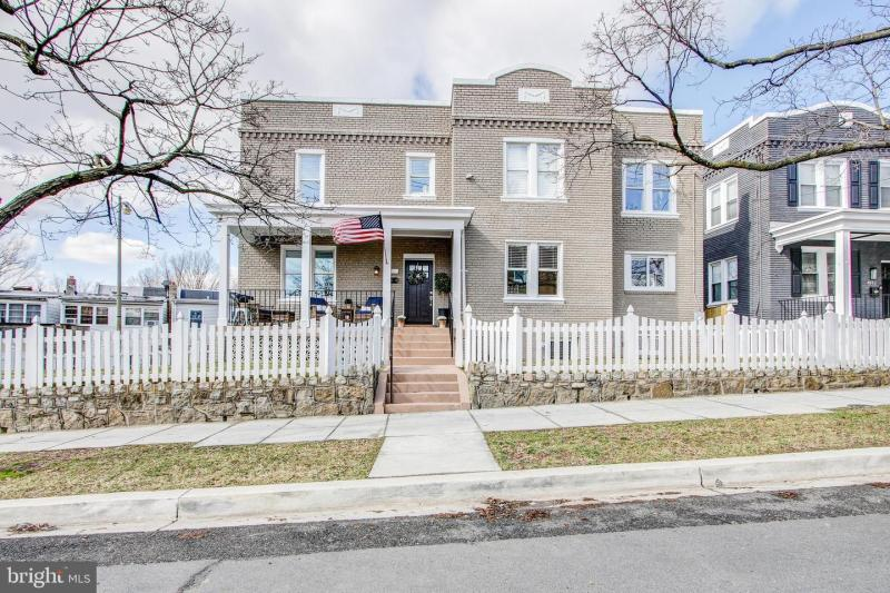 FOR SALE – WASHINGTON, DC NW – PETWORTH GEM- SINGLE FAMILY DETACHED WITH GARAGE