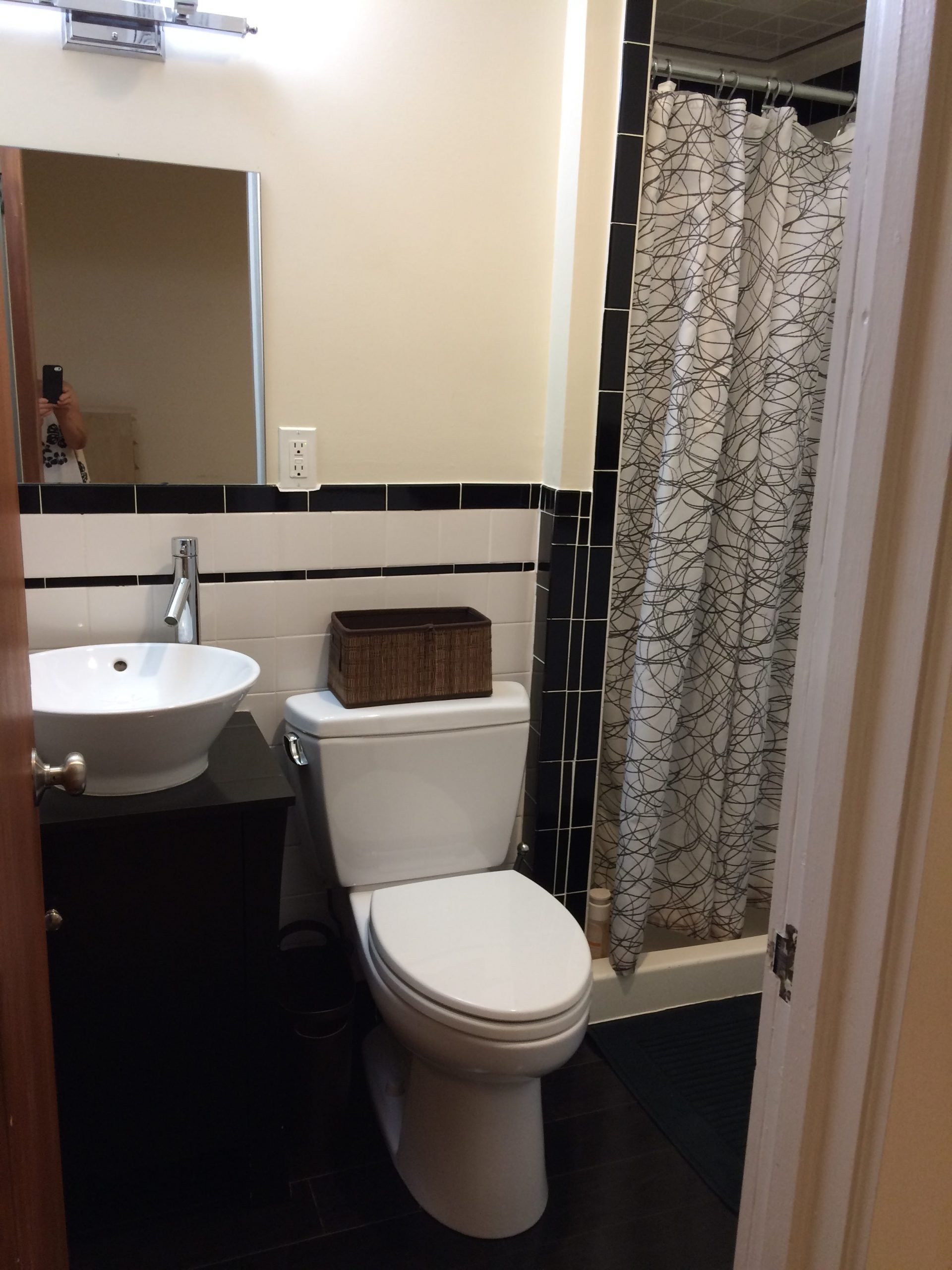 Full Bath off Bedroom