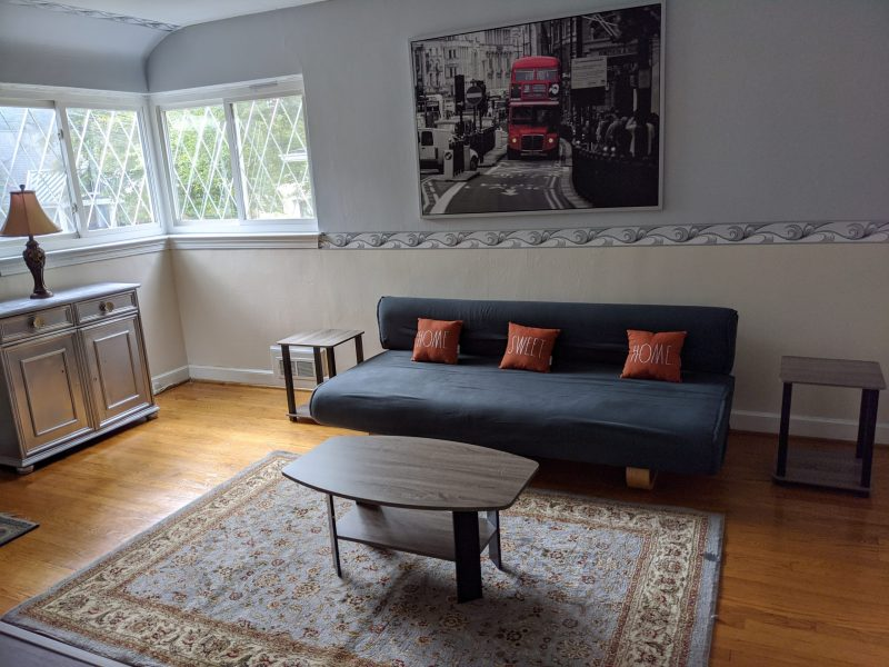 Private suite furnished – East Bethesda downtown with Bath and private entrance – walk to NIH and Bethesda downtown