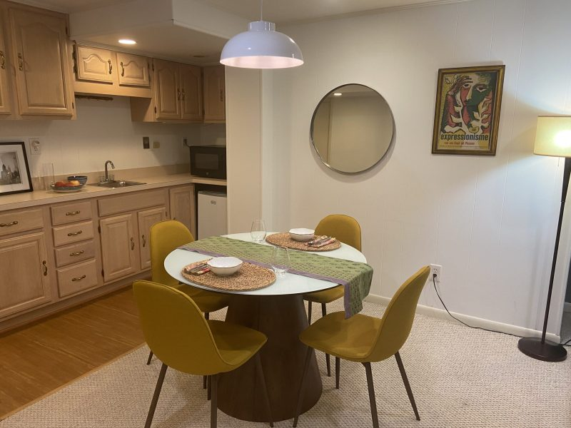 Spacious lower level 2 BR/1 BA in family home, private entrance
