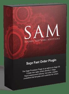 Sage fast Order Plugin