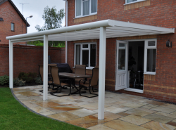 Garden Patio Awnings | Terrace Covers in Leicester ... on Patio Cover Ideas Uk id=48524